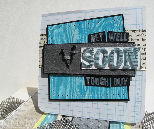 skipping stones design get well card