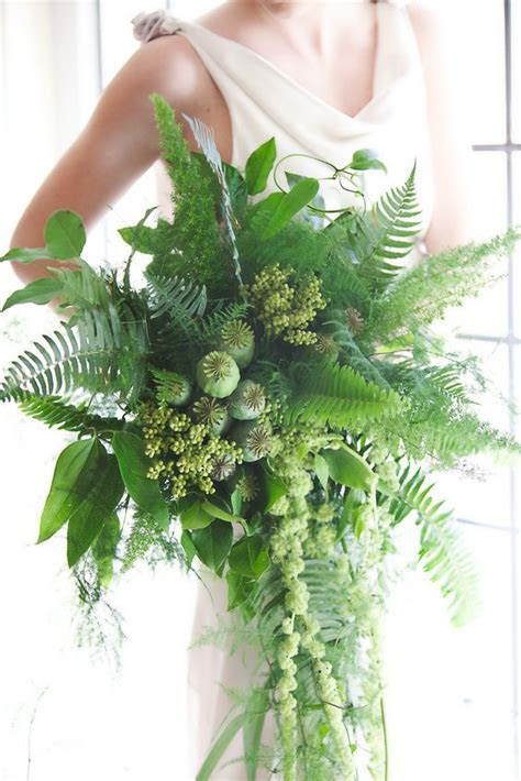 Fresh Greenery Bridal Bouquets   Arabia Weddings