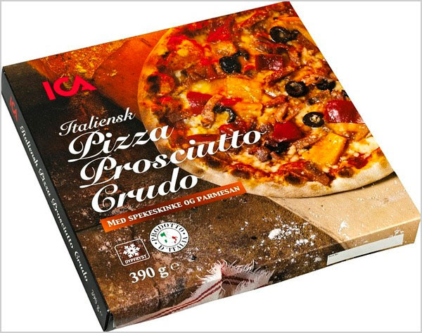 ICA Italian Packaging for Pizza 4 25+ Sour & Spicy Pizza Packaging Design Ideas