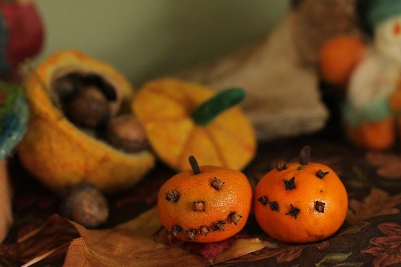 Jack o' Lantern oranges
