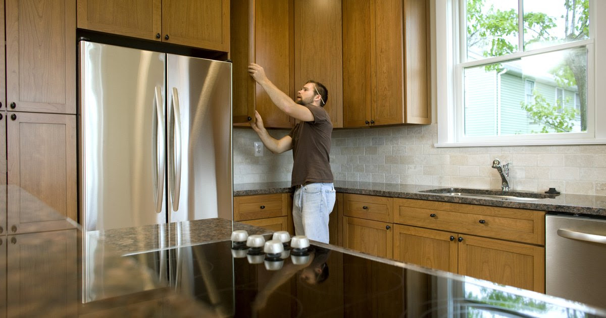 How to hang kitchen cabinets on metal studs   eHow UK