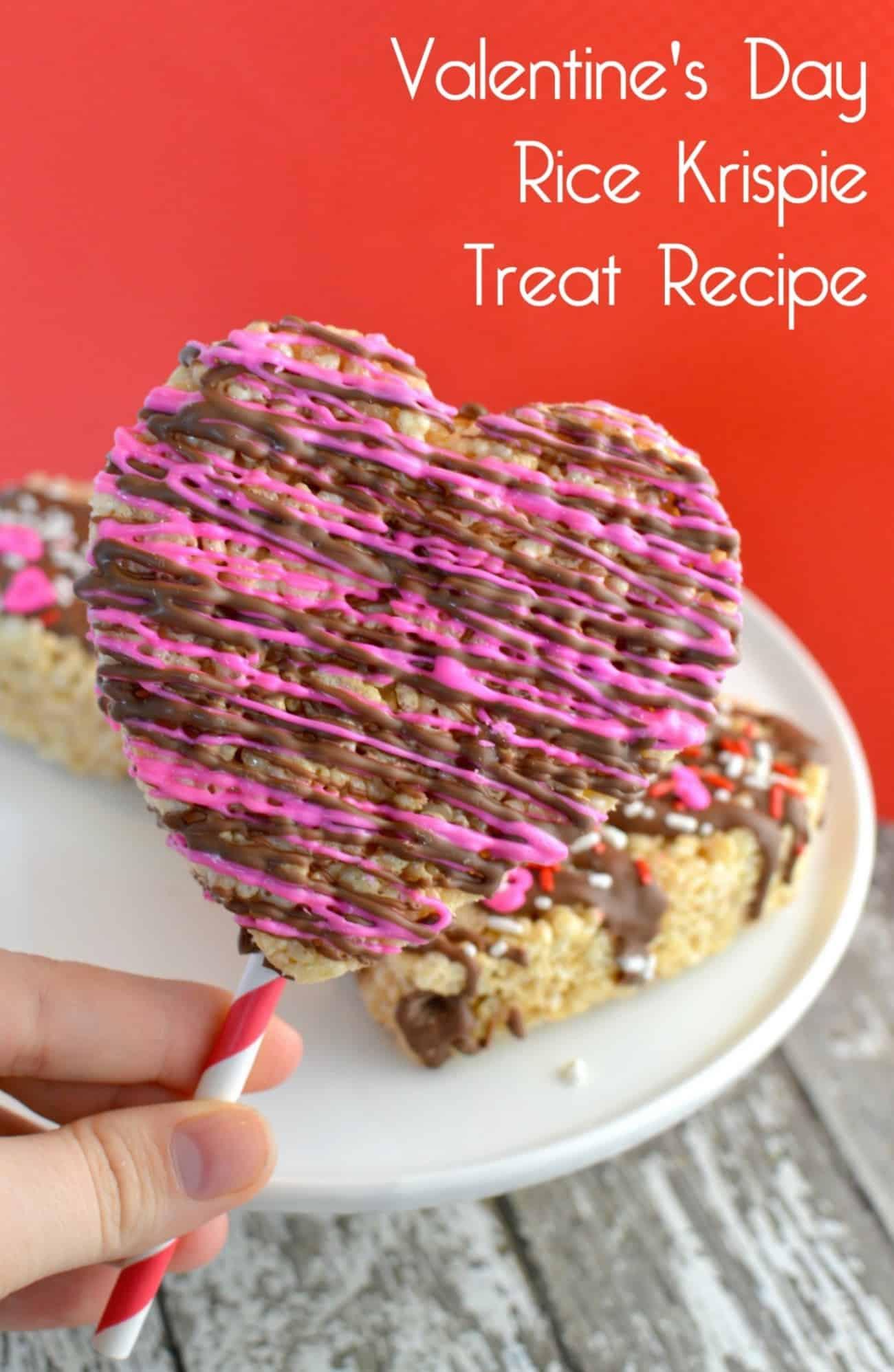 Valentine's Day Rice Krispie Treat Recipe - diycandy.com