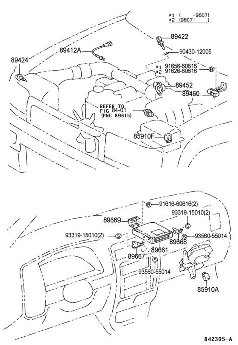 8966635410 - TOYOTA Computer, engine control | Toyota