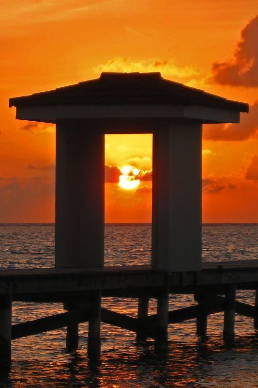 Belizean Sunrise
