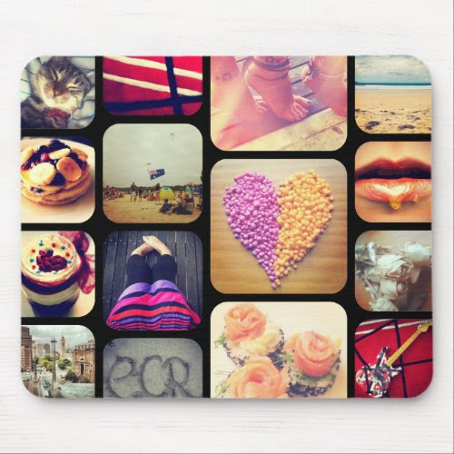 Create Your Own Instagram Mousepads