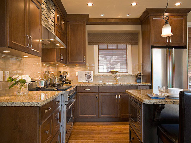 Solarius Granite Kitchen Countertop Remodeling Ideas
