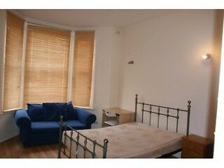 Huge studio flat with separate kitchen dinner including gas and ...