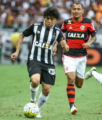 Luan, Alan Patrick; Atlético-MG x Flamengo (Foto: Bruno Cantini/ Atlético-MG)