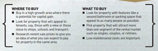 How to buy a property for rental income