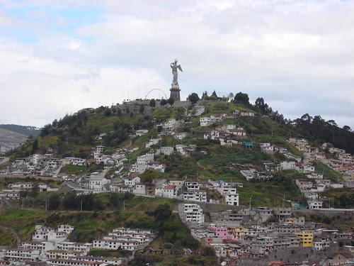 Quito - El Panicello from Yaku Museo del Agua