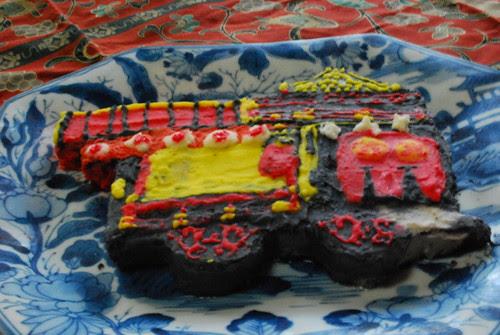 gion-guruma cake