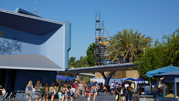 Disneyland Resort, Disneyland, Tomorrowland, Buzz, Lightyear, Astro, Blasters, Facade, Refurbishment, Refurbish, Refurb