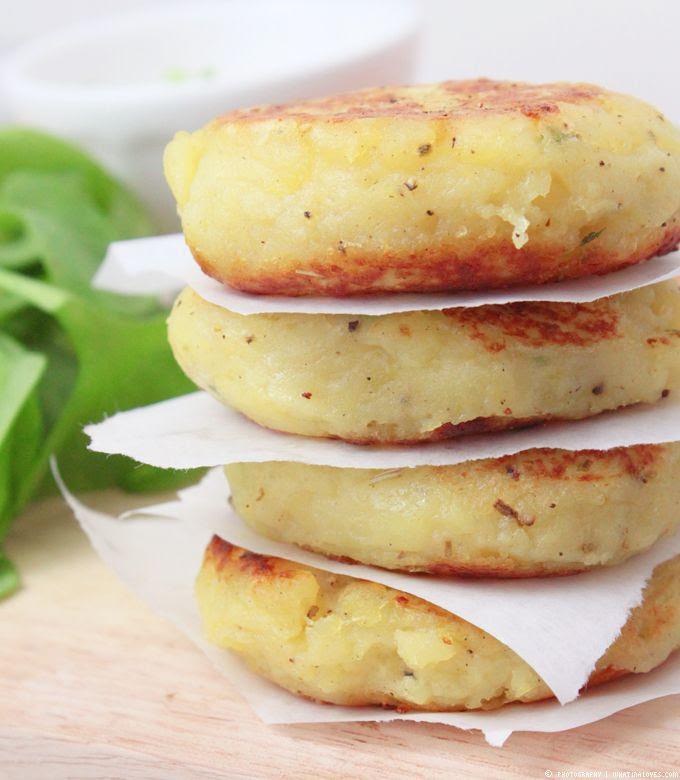 Potato Burger, Burger, Portulak, Lachs, Sahnemeerrettich,