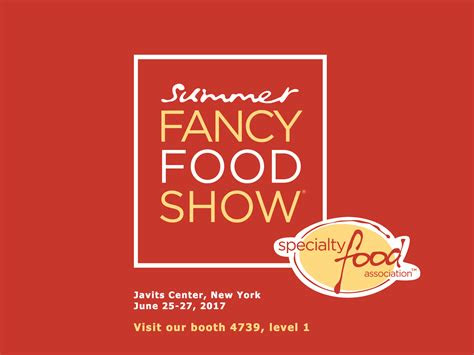 summer fancy food show  york june  nutria