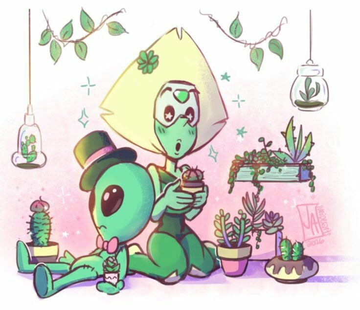 Our perfect little green Dorito💚😍 👑~Artist's website: http://www.beachcitybugle.com/2016/06/drawing-things-out-362.html?m=1~👑