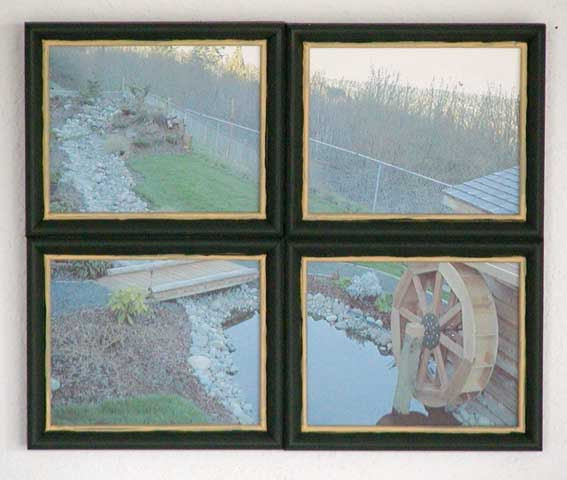 The Runnerduck Window Picture Frame Step By Step Instructions On