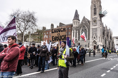 Anti-Austerity Protest In Dublin (Ireland) - 24 November 2012 by infomatique