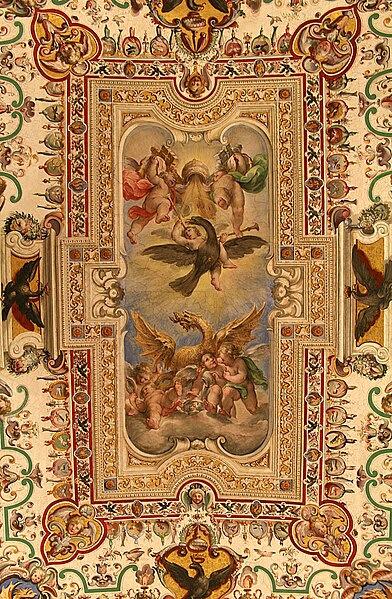 File:Plafond Sale Sistine - Salle des Archives pontificales (2).jpg