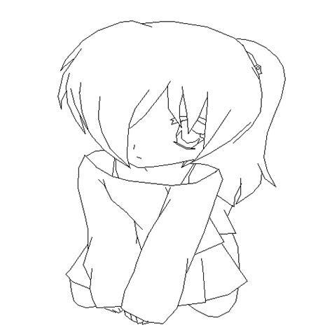 pixilart anime girl base  silent sage