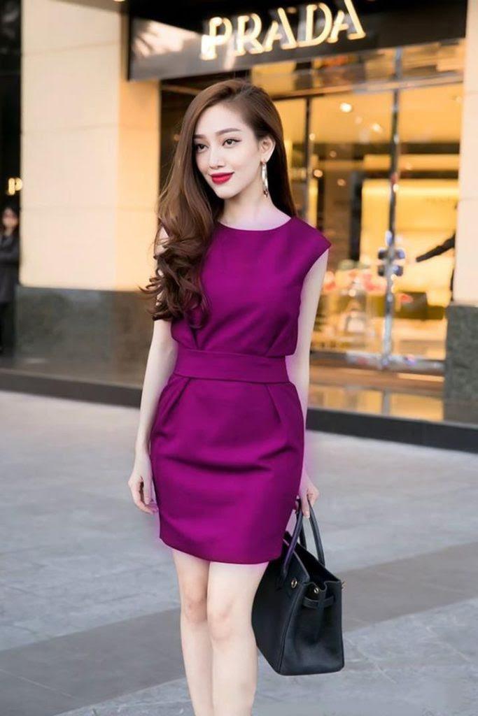 Đầm ôm body công sở đẹp thắt eo