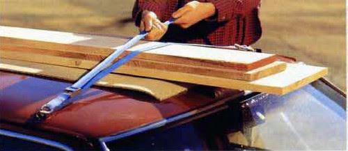 Cómo transportar madera de la tienda a tu casa 2