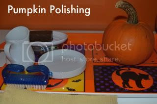 pumpkin polishing