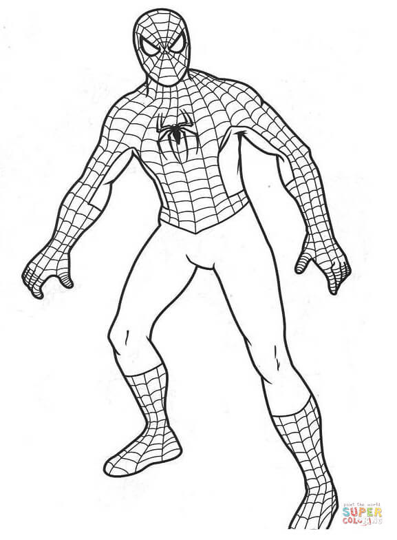 91 Top Spiderman Coloring Pages For Toddlers , Free HD Download