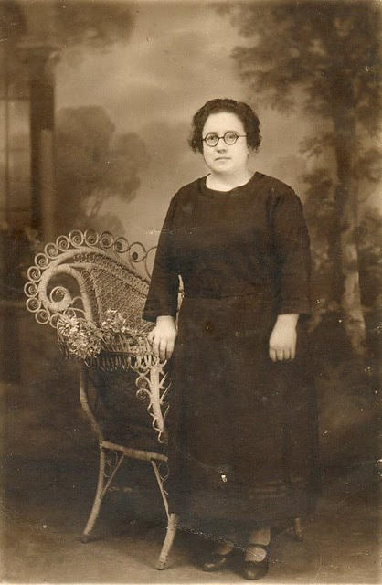 Retrato de muller en Buenos Aires