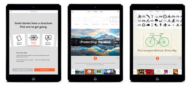 Adobe Voice: A Free iPad App For Pitching Brilliant Ideas to the World