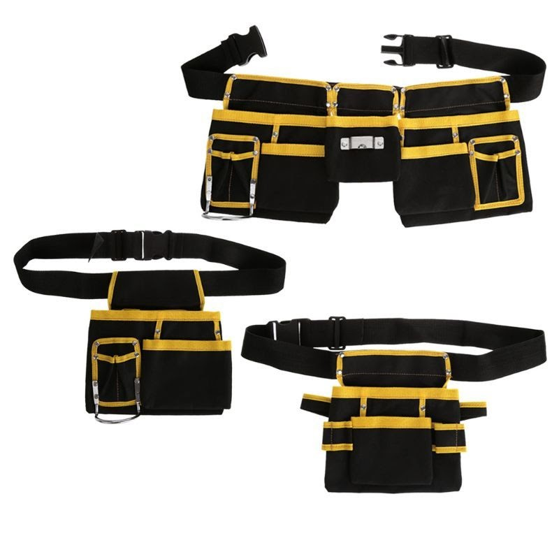 Recommended Electrician Tool Bag Waist Pocket Utility Pouch Belt Storage Holder Organizer