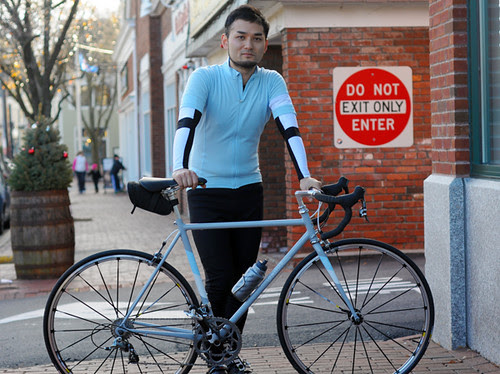 Nao Tomii and His Bicycle, Lexington MA