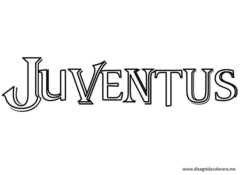 Disegni Da Stampare Gratis Della Juventus Migliori Pagine Da Colorare
