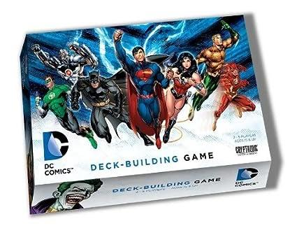 Dc Comics Deck Building Game Review