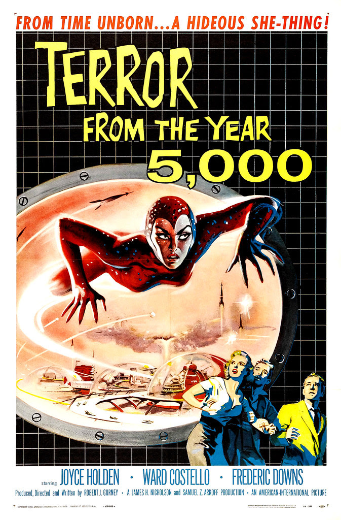 Albert Kallis - Terror from the Year 5000 (American International, 1958) One Sheet
