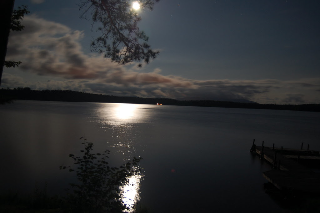 Adirondack moon
