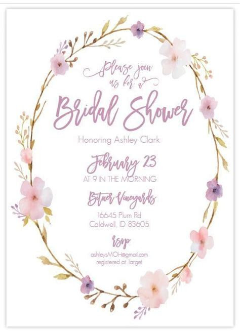 13 Bridal Shower Templates That You Won't Believe Are Free