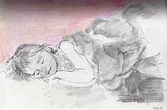 sleeping beauty  by Veronica Belcher
