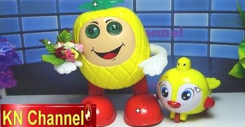 Đồ chơi trẻ em Bé Na Trái Thơm biết nhảy theo nhạc Mr Pineapple can dance to music Childrens toys