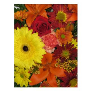Fall Floral Post Cards