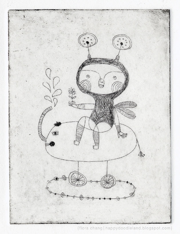 Etching: Fairy