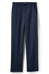 Boys Lands' End Perfect Chino Pant-White