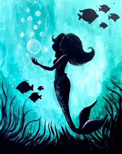 paint nite mermaid magic iii