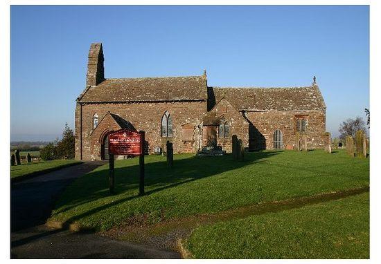 St. Mungo's Church in Bromfield, Cumbria.