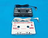 カセットアダプターiPod/MP3/MD他 車内使用可 黒