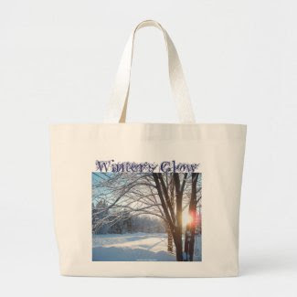WINTER'S GLOW Winter Sunrise Design bag