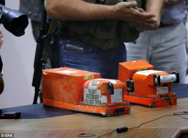 The MH17 black boxes have been handed over to the Malaysian investigation team in Ukraine