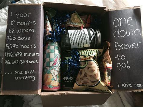 One Year Anniversary gift idea! #anniversary #boyfriend #