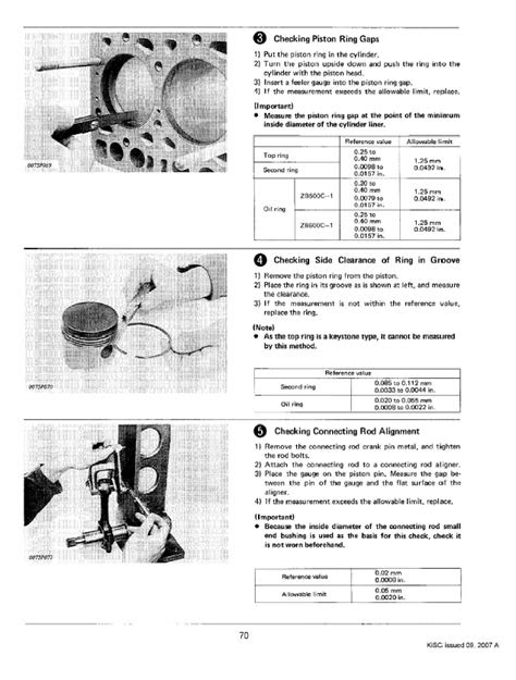 Kubota ZB500C-1-B, ZB600C-1-B Diesel Engines Workshop