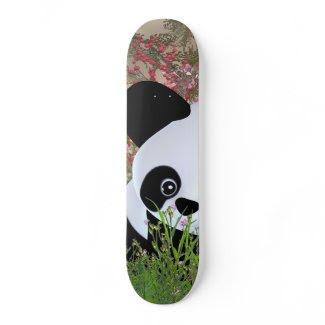 Where did the bamboo go? skate board