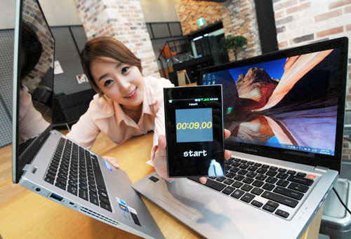 LG launches 133inch X Note Z350 laptop with thirdgen Intel Core power, WiDi and an SSD